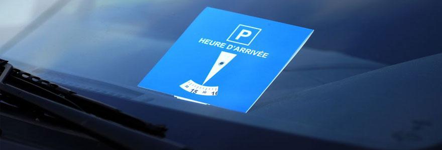 Disques de stationnement personnalisables