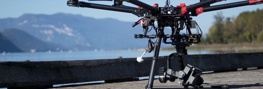 vidéo aérienne de drone